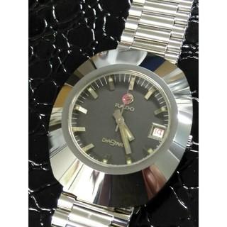 ラドー(RADO)の美品 ラドーダイヤスター 自動巻 スイス製 メンズ ユニセックス タング(腕時計(アナログ))