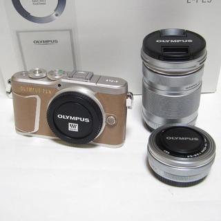 OLYMPUS - 美品 保証付き OLYMPUS PEN E-PL9 EZダブルズームキット
