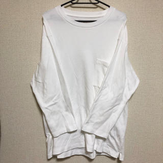 UNIQLO - UNIQLO * ポケット付きルーズフィットクルーネックTシャツ 7分袖