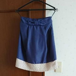 しまむら - 【Mサイズ美品】ひざ丈スカート