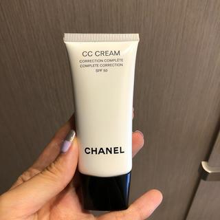 シャネル(CHANEL)のCHANEL シャネル CCクリーム50 10ベージュ 残量80%(BBクリーム)
