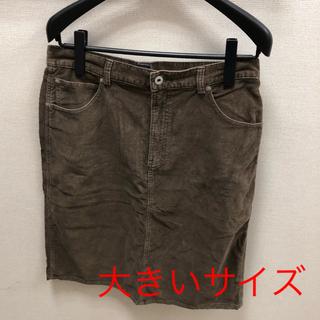 ギャップ(GAP)のGAP★コーデュロイ ひざ丈タイトスカート サイズ12(ひざ丈スカート)
