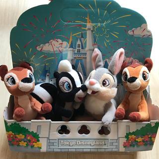 Disney - ディズニーランド購入/バンビのぬいぐるみセット