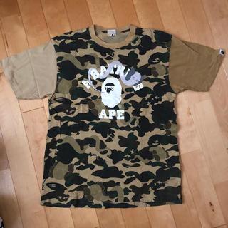 A BATHING APE - bape × kaws コラボ tシャツ