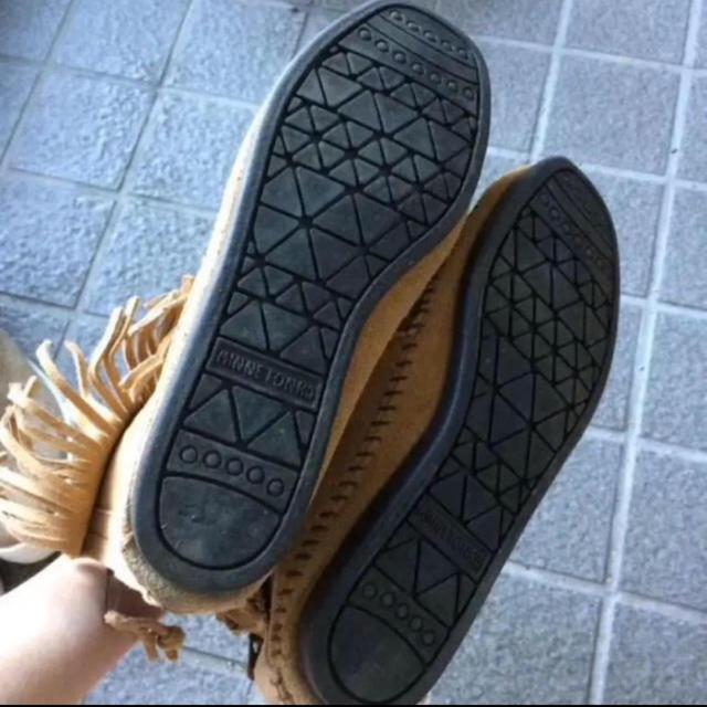 earth music & ecology(アースミュージックアンドエコロジー)のミネトンカ×アースミュージック&エコロジー ブーツ レディースの靴/シューズ(ブーツ)の商品写真