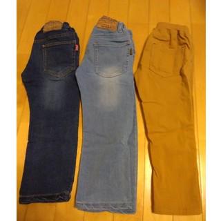 F.O.KIDS - ズボン3枚セット F.O.KIDS Gパン 2枚 丸高衣料 長ズボン1枚