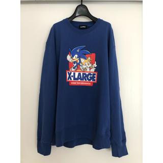 エクストララージ(XLARGE)のらくまだいき様専用 X-LARGE SONIC SEGA sweatshirt(スウェット)