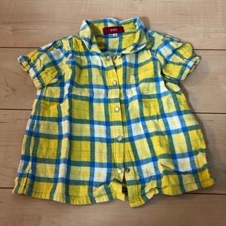 シップス(SHIPS)のシップスチェックシャツ(Tシャツ/カットソー)