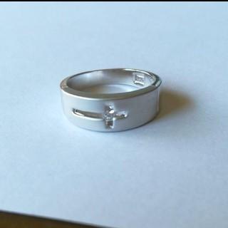 15号 クロスデザインリング O(リング(指輪))