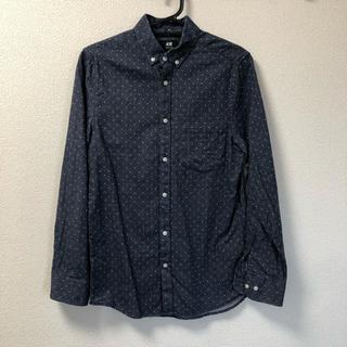 エイチアンドエム(H&M)のフランネルドットシャツ(ボタンダウン・長袖)(シャツ)