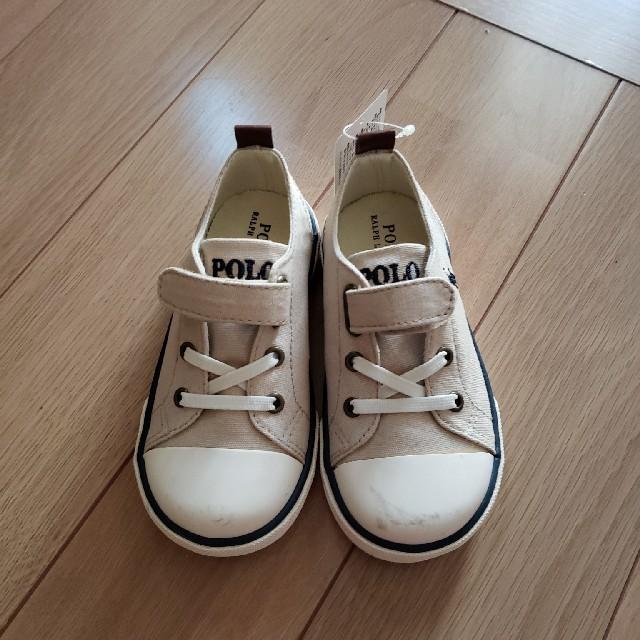 Ralph Lauren(ラルフローレン)のスニーカー キッズ/ベビー/マタニティのベビー靴/シューズ(~14cm)(スニーカー)の商品写真