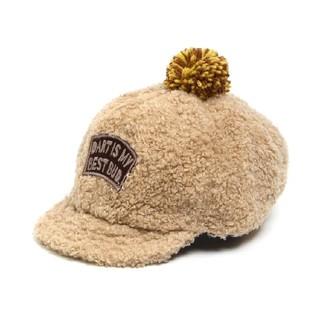 ampersand - BREEZE ブリーズ アンパサンド ボンボン付き キャップ 帽子 48