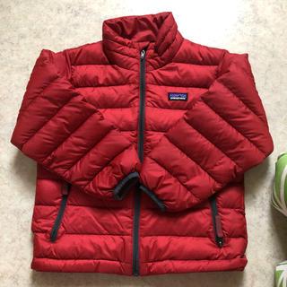 patagonia - パタゴニア キッズ ダウンジャケット xs 120センチ 美品 ベビー セーター