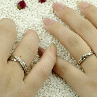 ☞【6号】★リング☆Czダイヤ銀925(リング(指輪))