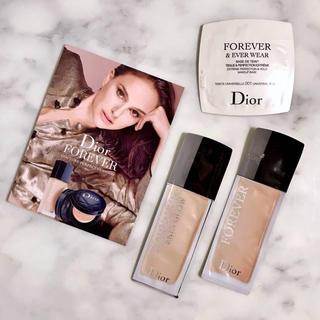 ディオール(Dior)のディオールスキン フォーエヴァー フルイド ファンデーション【2N】セット(サンプル/トライアルキット)