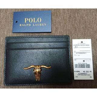 Ralph Lauren - 新品 POLO Ralph Lauren Card Case 黒 カードケース
