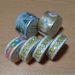 ミナペルホネン(mina perhonen)の☆ミナペルホネンSHOP限定6本セット(テープ/マスキングテープ)