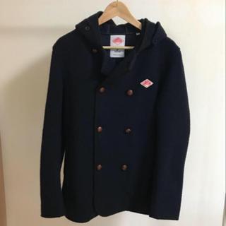DANTON - 美品 DANTON ウールモッサダブルフードジャケット コート