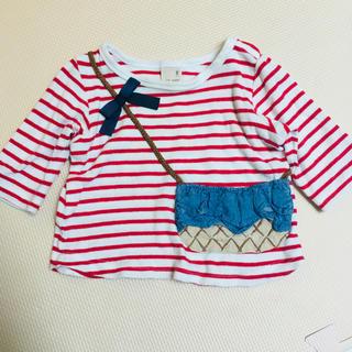 プティマイン(petit main)のプティマイン  7分袖カットソー 90(Tシャツ/カットソー)