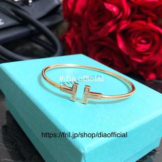 Tiffany & Co. - 💓芸能人💓特別価格✨ティファニー好き✨Tワイヤーブレスレット💓
