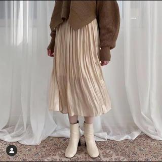 カスタネ(Kastane)のマイバレンタイン  プリーツスカート(ロングスカート)