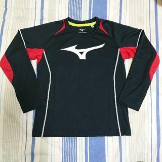 ミズノ(MIZUNO)のMIZUNO  ミズノ  速乾   長袖シャツ  黒(Tシャツ/カットソー)