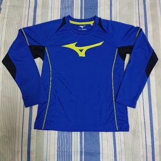 ミズノ(MIZUNO)のMIZUNO  ミズノ  速乾   長袖シャツ  青(Tシャツ/カットソー)