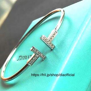 Tiffany & Co. - 💓特別価格💓ティファニー好き💓Tワイヤーブレスレット💓