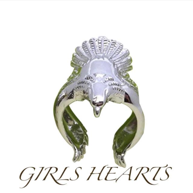 送料無料25号クロムシルバービッグイーグルリング指輪クロムハーツゴローズ好きに メンズのアクセサリー(リング(指輪))の商品写真