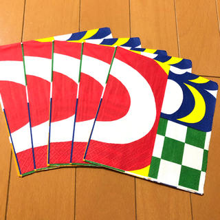 マリメッコ(marimekko)のペーパーナプキン   マリメッコ   L - ⑨    5枚(各種パーツ)