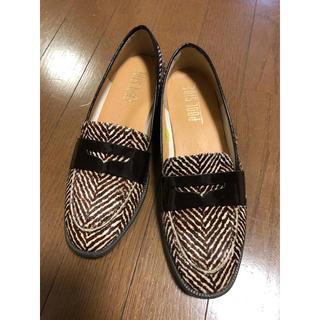 プールサイド(POOL SIDE)の【POOLSIDE】ハラコローファー 23.5cm(ローファー/革靴)