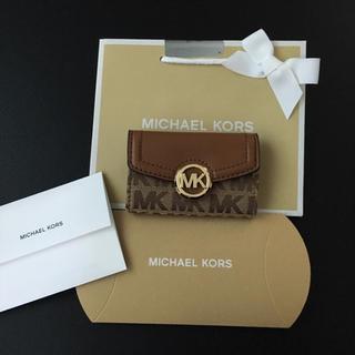 Michael Kors - 【新作】マイケルコース  モノグラム キーケース