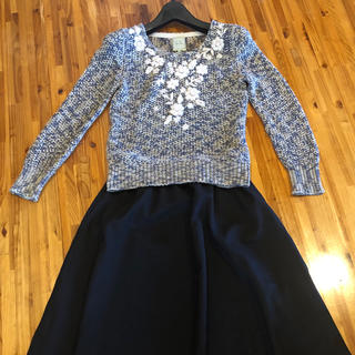 シビラ(Sybilla)のシビラ 《洗える》上品 刺繍サマーセーター (ニット/セーター)