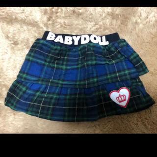 ベビードール(BABYDOLL)のベビードール キュロット80サイズ(スカート)