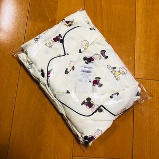 GU - GU サテン  スヌーピー  パジャマ M ジェラピケ
