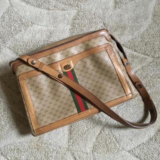 Gucci - オールドグッチ マイクロgg シェリー ショルダー
