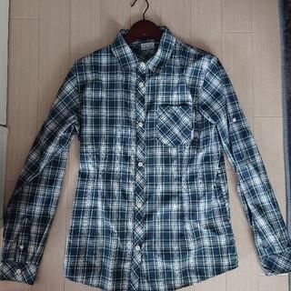 コロンビア(Columbia)のコロンビア レディースチェックシャツ(XL)(シャツ/ブラウス(長袖/七分))