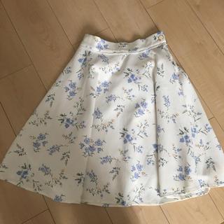 マジェスティックレゴン(MAJESTIC LEGON)のマジェスティックレゴン 花柄スカート(ひざ丈スカート)