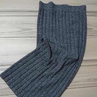 ギャップ(GAP)のGAP 美品 リブニットタイトスカート S(ひざ丈スカート)