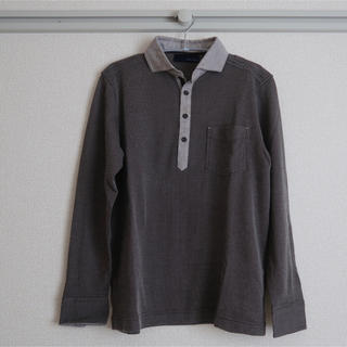 JOSEPH - ジョゼフ シャツ ポロシャツ グレー ブラウン チャコール
