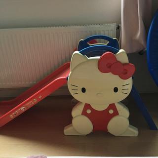 滑り台 室内 屋内 キティ