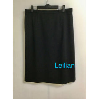 レリアン(leilian)の美品 レリアン 大きいサイズ    タイトスカート W86(ひざ丈スカート)