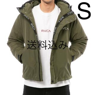 ルーカ(RVCA)の【S】RVCA ルーカ PUFFA JACKET パフ ジャケット モスグリーン(ダウンジャケット)