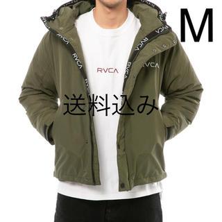 ルーカ(RVCA)の【M】RVCA ルーカ PUFFA JACKET パフ ジャケット モスグリーン(ダウンジャケット)