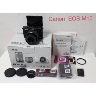 Canon - Canon  EOS M10 ズームレンズキット ブラック