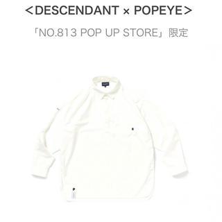 W)taps - <DESCENDANT × POPEYE>PULLOVER LS SHIRT