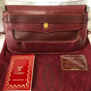 カルティエ(Cartier)のjupiter様専用  Cartierクラッチバッグ ギャランティカード付き(クラッチバッグ)