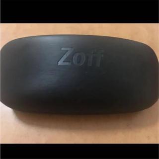 ゾフ(Zoff)の未使用**ZOFF メガネケース 黒 一度も使っていません!送料250円込み(サングラス/メガネ)