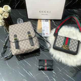 Gucci - GUCCIグッチ バッグパック ショルダーバッグ 財布 美品