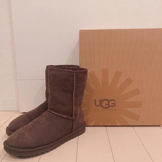 アグ(UGG)のUGG ムートンブーツ / クラシック / ショート /チョコレート / 25(ブーツ)